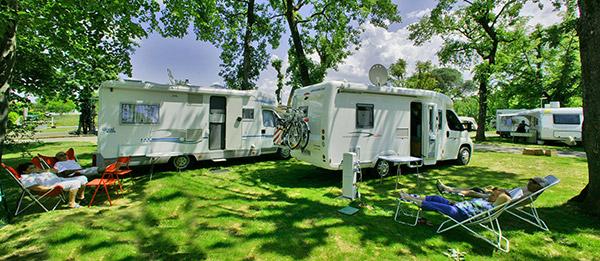 Camping-car et repos