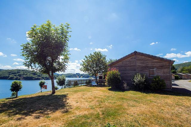Rives du lac chalet et vue