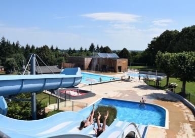 Camping La Forêt pentagliss & toboggans piscine