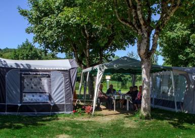 Camping Municipal la Rabaudié caravanes