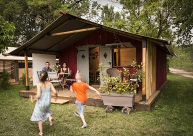 Camping Soleil des Bastides Tente originale