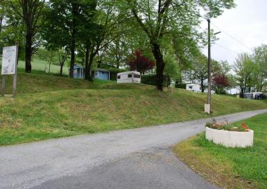 Camping Municipal Les Adrêts entrée