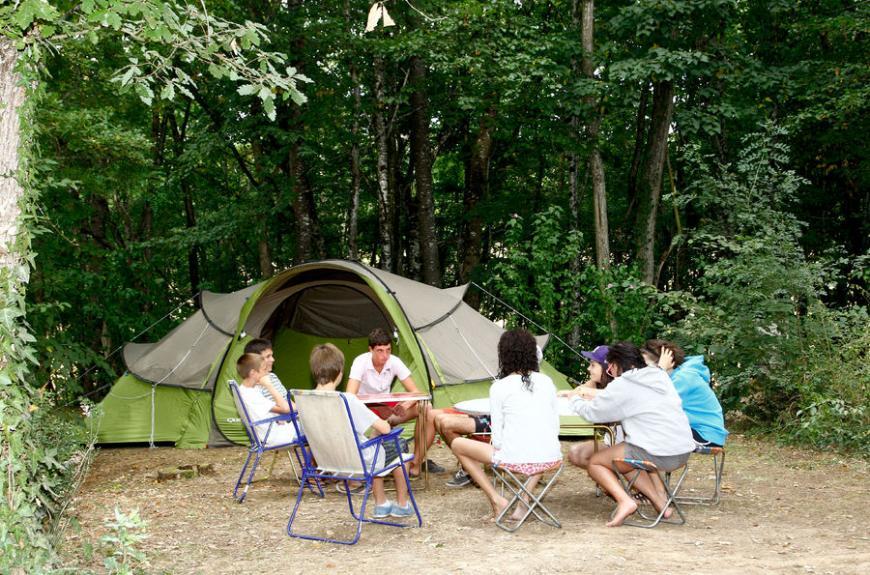 Camping du Chêne Vert emplacements