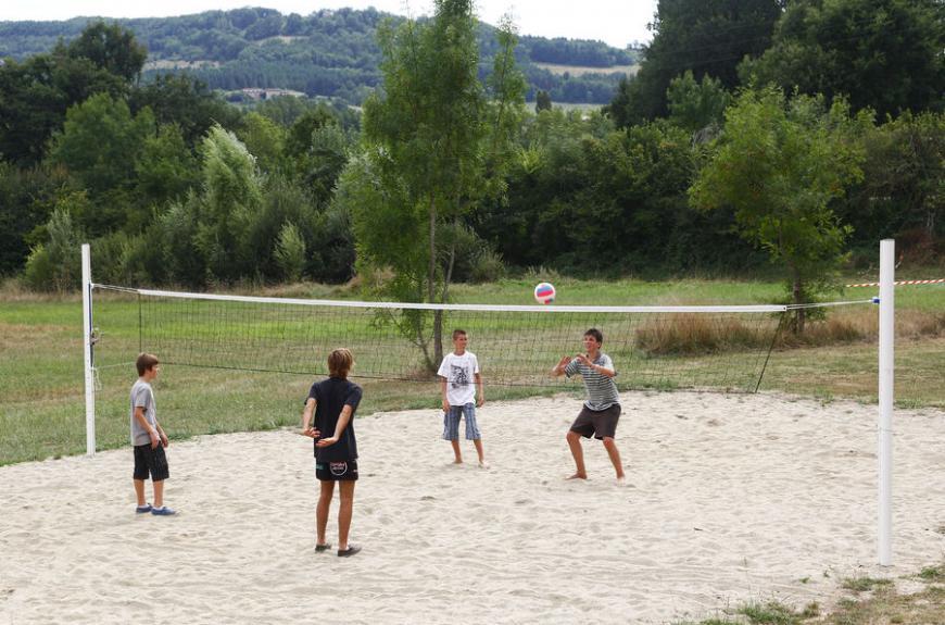 Camping du Chêne Vert volley