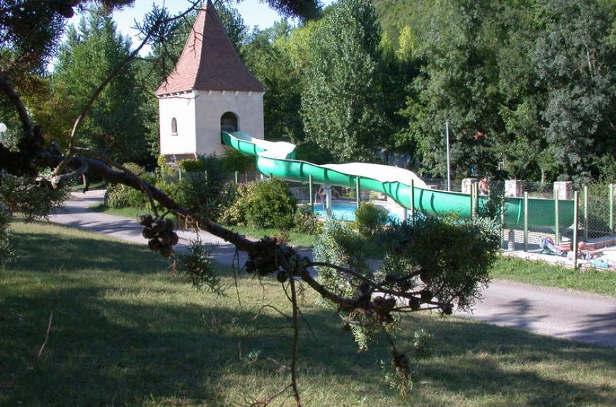 Moulin de Julien piscine et toboggan