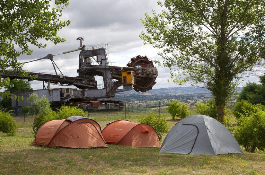 Camping du lac Ste Marie emplacements
