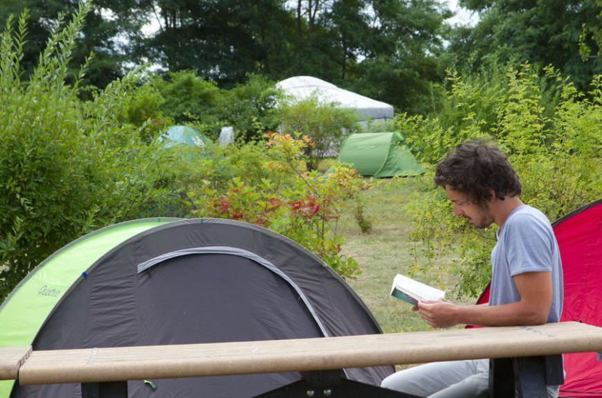 Camping du lac Ste Marie lecture et camping