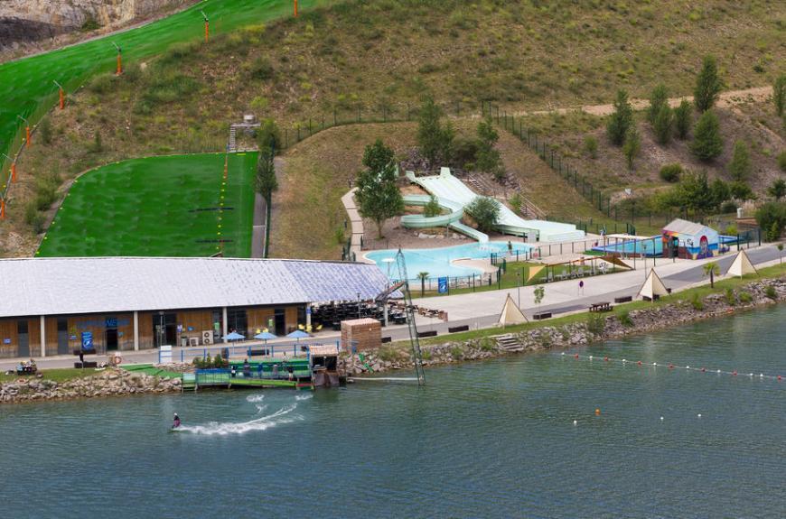 Camping du lac Ste Marie lac de cap découverte