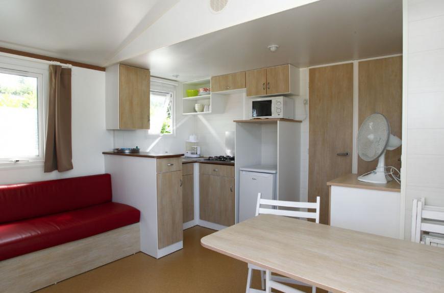 Pessac intérieur mobile home