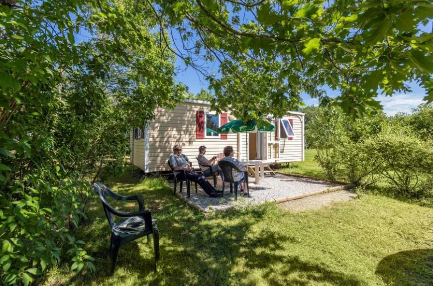 Gourjade terrasse mobile home