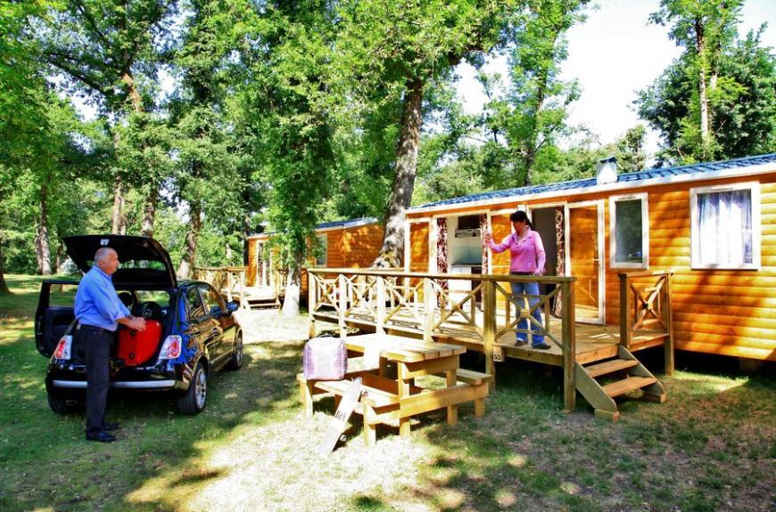 Albirondack Camping Tarn Mobile home sequoia