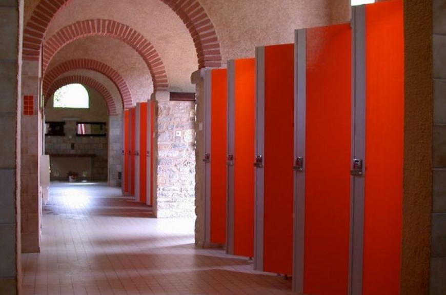 Moulin de Julien sanitaires