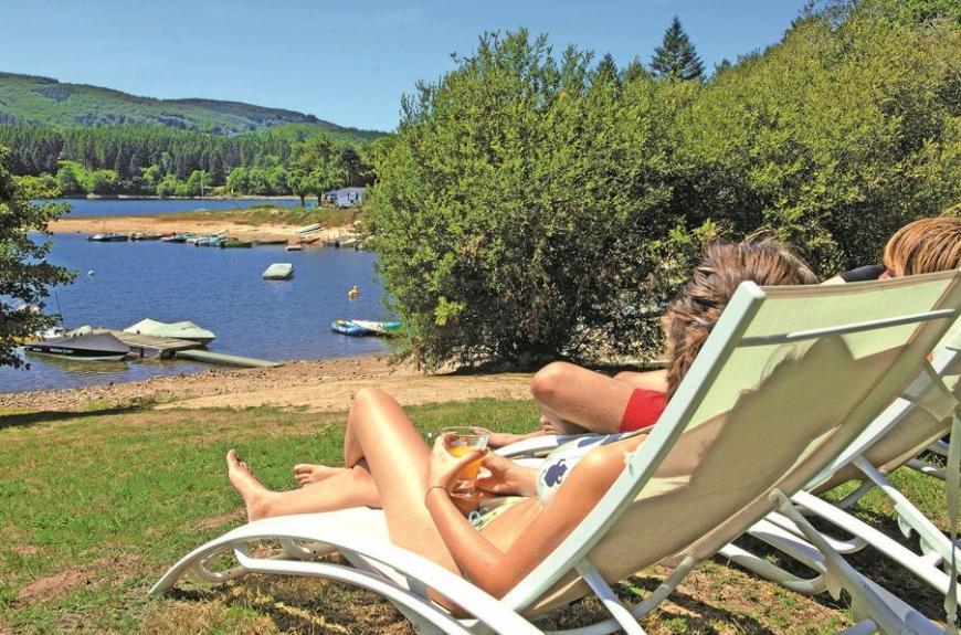 Le Rouquié du lac bains de soleil