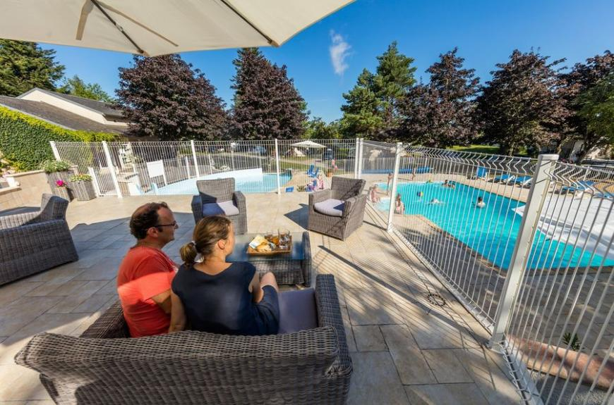 Le Plô parents piscine