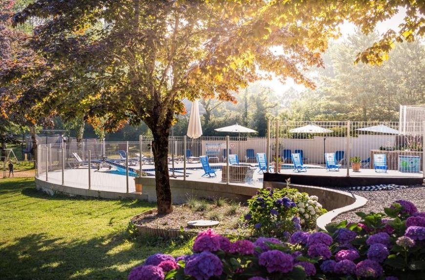 Le Plô piscine le matin