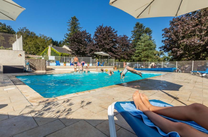 Camping Le Plô piscine