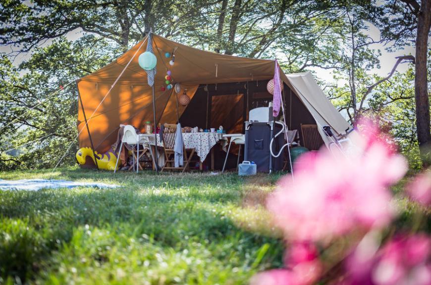Camping Le Plô location tente