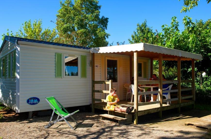 Les Pommiers d' Aiguelèze mobile home