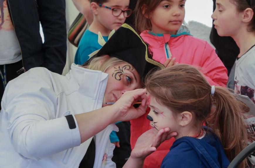 Domaine du Grand Chêne maquillage enfant