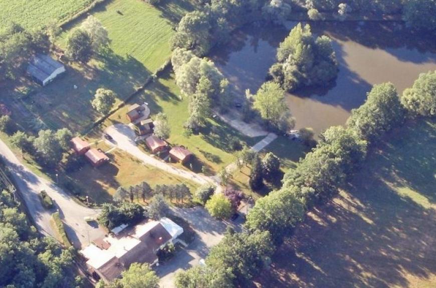 Domaine du Grand Chêne vue aérienne