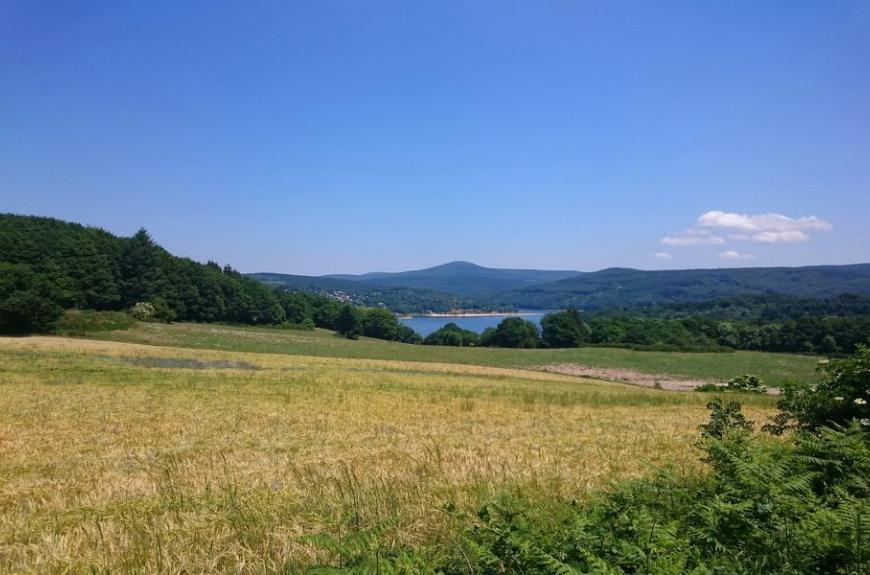 Paysage Fées du Lac Laouzas