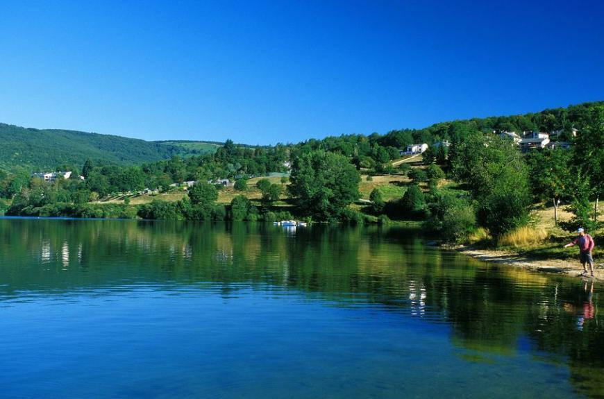 Pêche lac Fées du Lac Laouzas