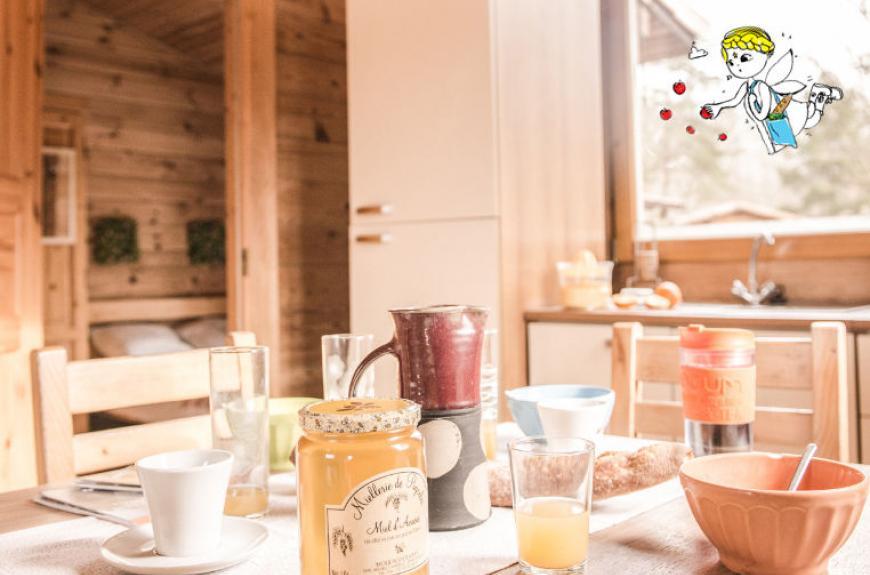 Les Fées du Moulin petit déjeuner