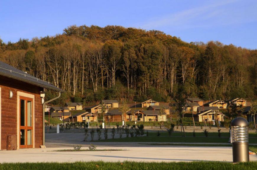 Camping des Sources Chaudes vue générale