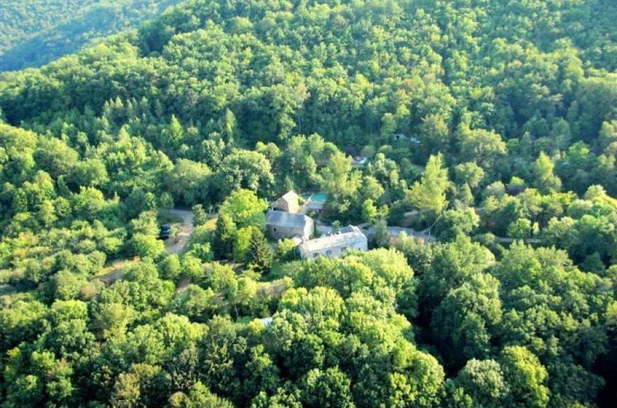 domaine les clots vue forêt