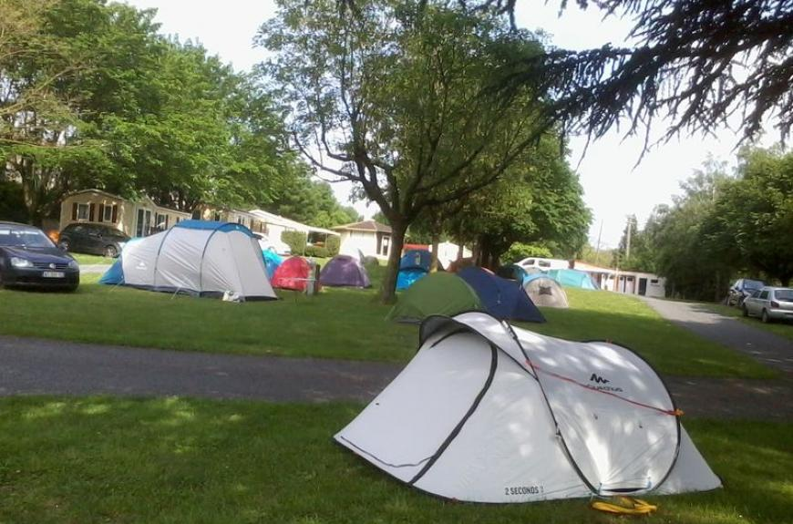 Camping Vallée du Thoré tente