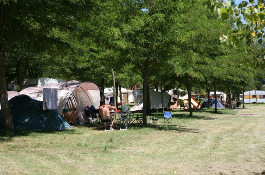 camping l'amitie emplacements