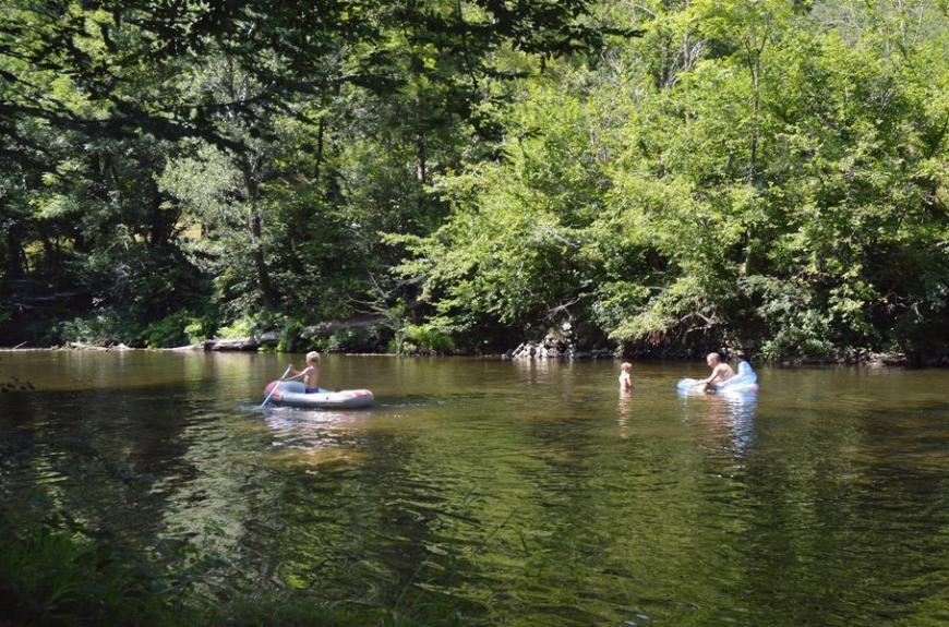 La Prade jeux en rivière