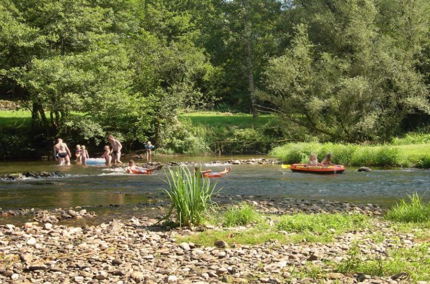 La Prade rivière & enfants