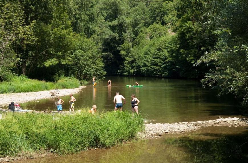 La Prade famille rivière