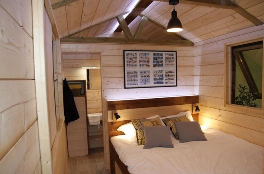 La Prade chambre cabane bois