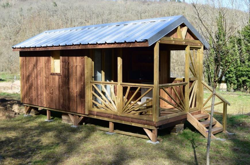 La Prade cabane bois