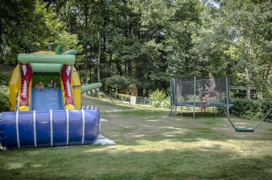 Camping Lestap jeux enfants