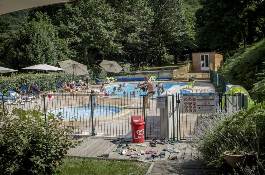 Camping Lestap piscine