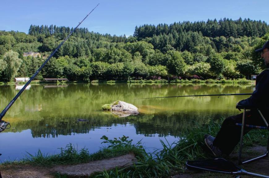 Camping Municipal la Rabaudié pêche