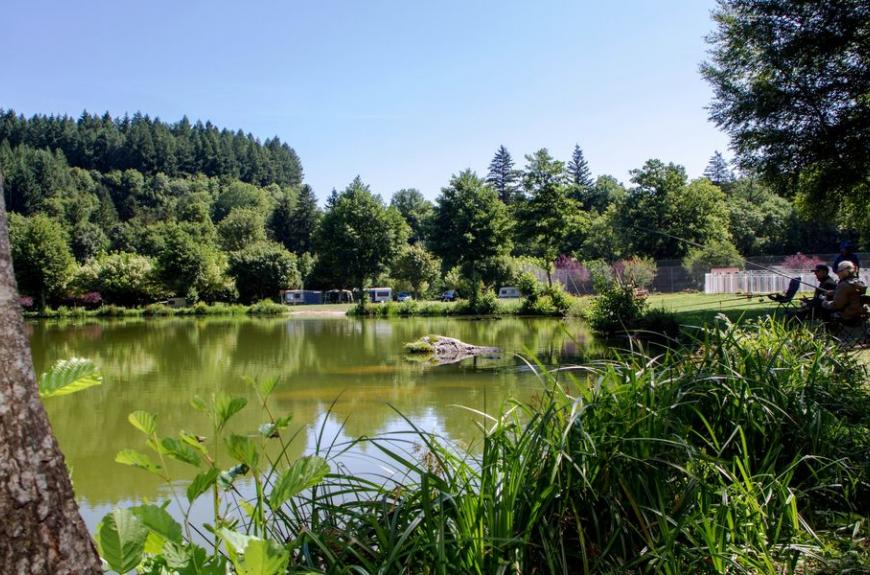 Camping Municipal la Rabaudié lac