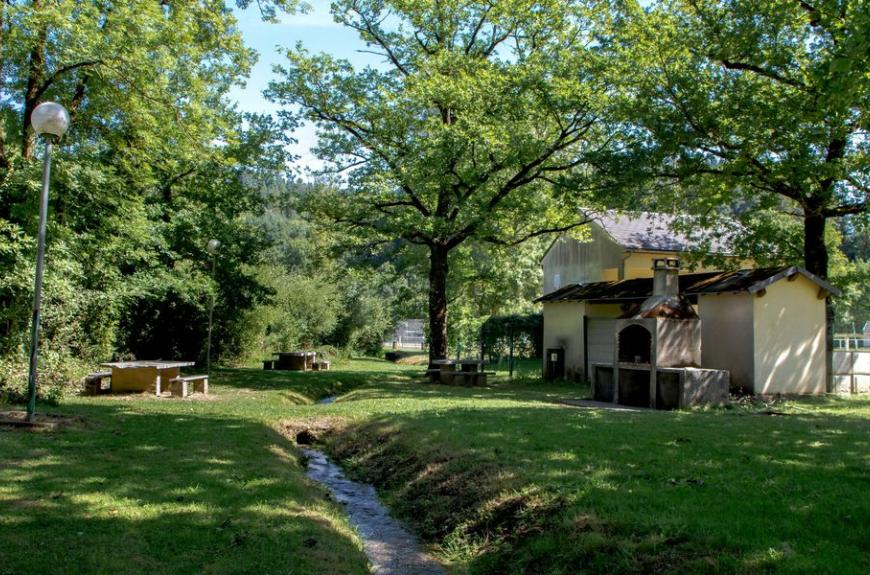 Camping Municipal la Rabaudié sanitaires