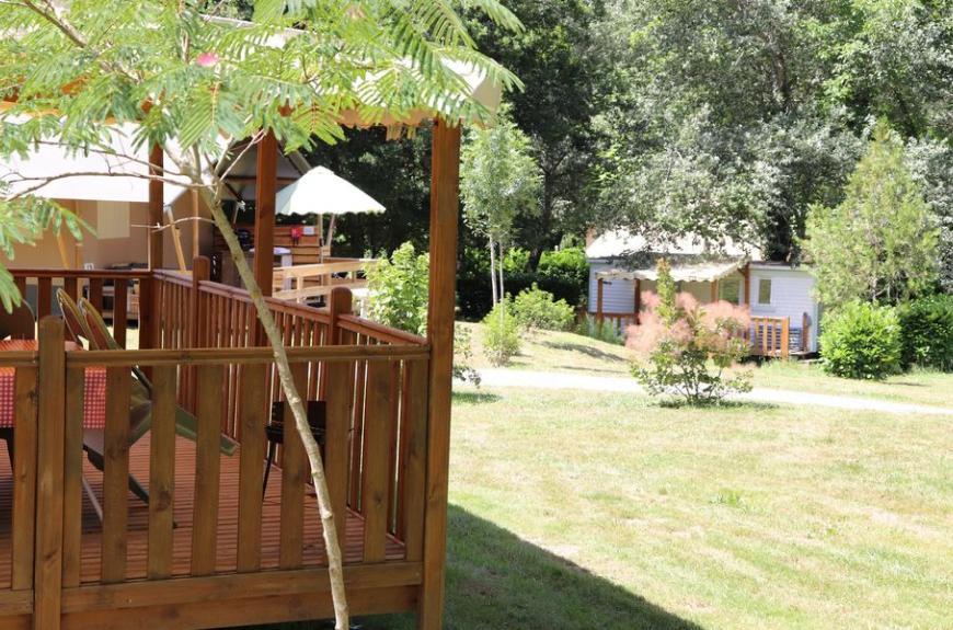 Camping La Prade locations