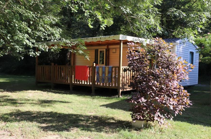 Camping La Prade mobile home