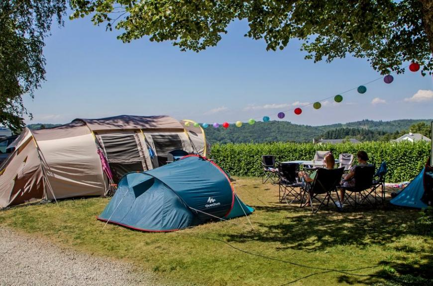 Camping Le Plô grands emplacements