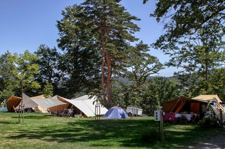 Camping Le Plô grands espaces