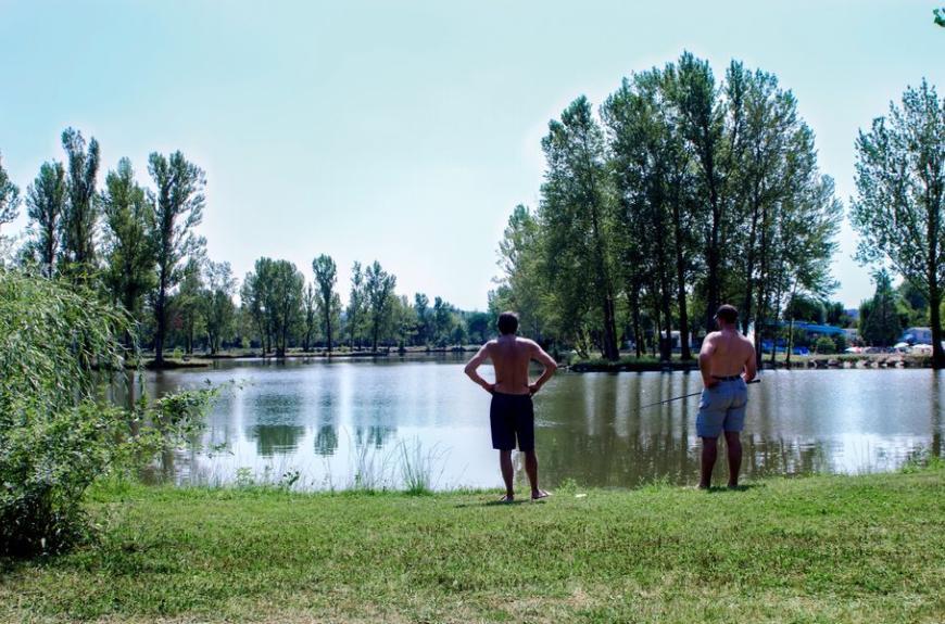 Camping Plan d'Eau St Charles pêche