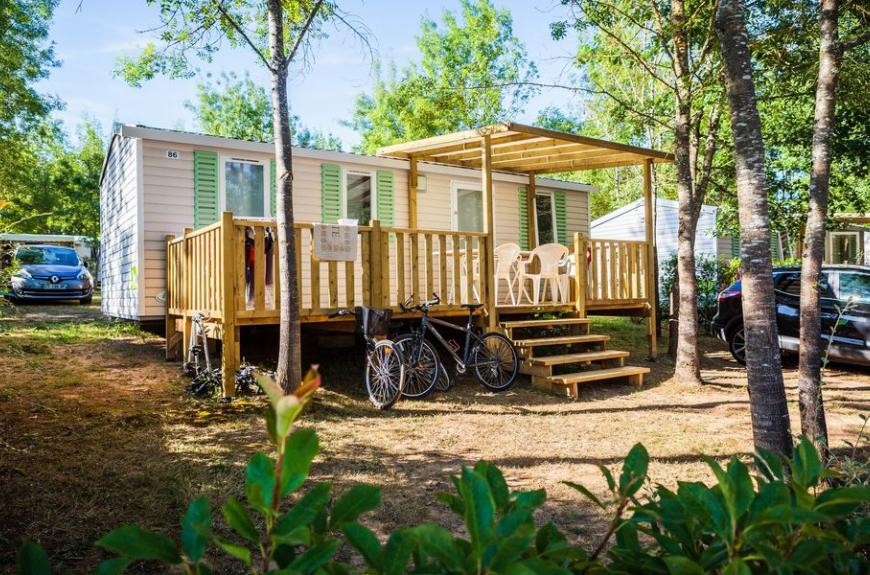 Camping Chêne Vert mobile home