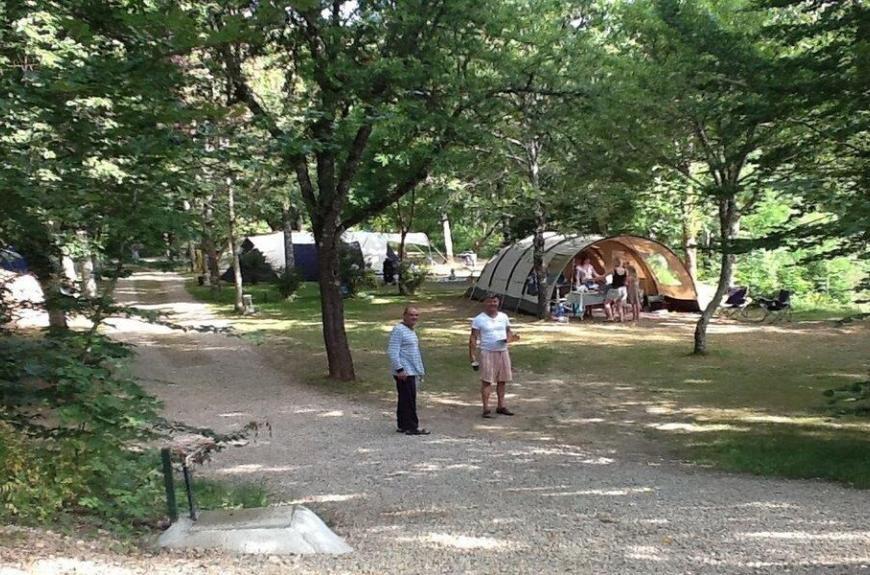 Camping Domaine Les Clots jeux de boules