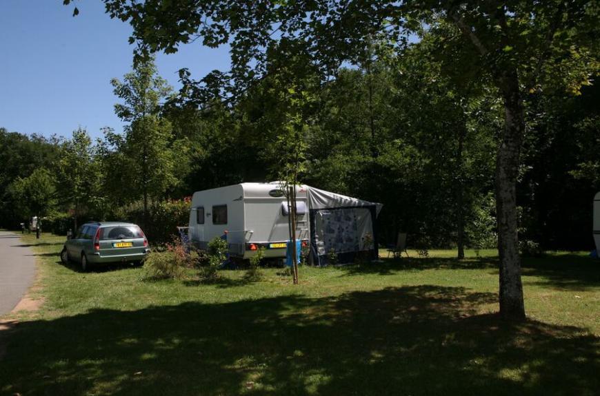 Camping Municipal la Bâtisse caravane