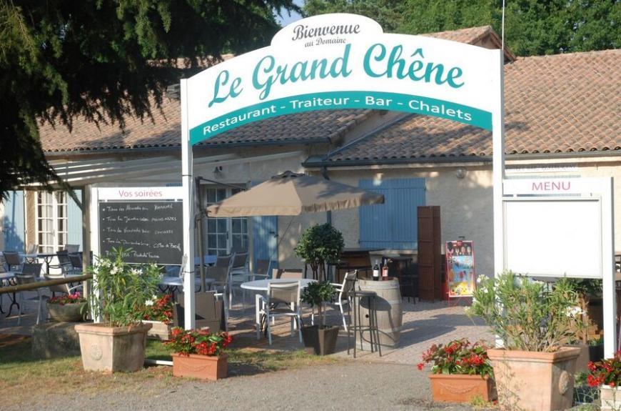 Domaine du Grand Chêne entrée du restaurant